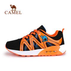 小骆驼童鞋秋季青少年户外中大童运动鞋男童减震气垫防滑跑步鞋
