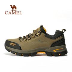camel/駱駝戶外徒步鞋 男款防滑耐磨戶外鞋 低幫男鞋