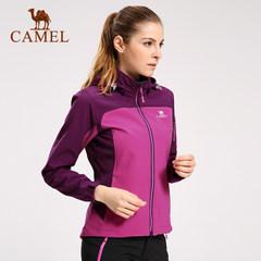 camel/骆驼户外女款软壳衣 防风保暖舒适耐磨软壳衣