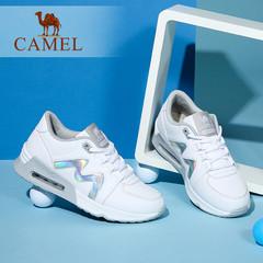 Camel/骆驼女鞋 2016秋季新款 舒适时尚慢跑鞋 气垫运动女鞋单鞋