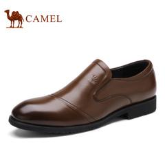 Camel/骆驼男鞋春季套脚皮鞋商务正装皮鞋舒适男士皮鞋