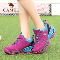 Camel/骆驼女鞋 2016秋季新款 日常跑步鞋舒适休闲女单鞋系带女鞋