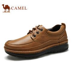 Camel/骆驼男鞋厚底百搭休闲皮鞋日常休闲皮鞋男牛皮男鞋 休闲鞋