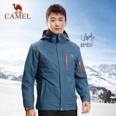 【佟大为同款】骆驼户外冲锋衣 男三合一两件套防风保暖冲锋衣冬
