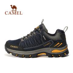 CAMEL骆驼户外徒步鞋 男款防滑耐磨减震低帮系带户外登山鞋