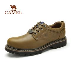 Camel/骆驼男鞋 真皮系带男鞋牛皮户外休闲工装鞋大头鞋真皮品质