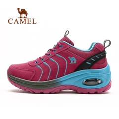 CAMEL骆驼户外徒步鞋 秋冬女款耐磨减震系带时尚徒步鞋