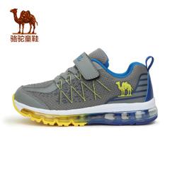 小骆驼童鞋2016秋季新款透气网面儿童全掌气垫舒适缓震轻跑运动鞋