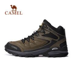 CAMEL骆驼户外高帮登山鞋 男款耐磨防滑减震防水透气户外鞋