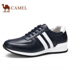 CAMEL骆驼休闲男鞋新款 舒适耐磨系带男士运动日常休闲低帮