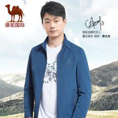 【热卖5000件】骆驼 青年修身男士夹克水洗外套男立领jacket潮