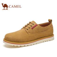 Camel/骆驼男鞋 伐木鞋男反绒牛皮休闲鞋户外潮鞋 春季