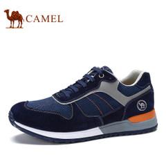 CAMEL骆驼2017新品男鞋舒适耐磨日常休闲鞋男士防滑减震系带低帮