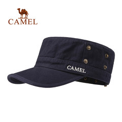 CAMEL骆驼户外 运动帽 出游棉质时尚百搭 军帽短檐