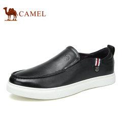 Camel骆驼男鞋 时尚休闲透气套脚男鞋日常休闲舒适皮鞋