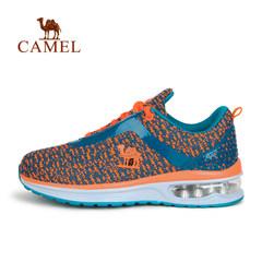 CAMEL骆驼童鞋缓震防滑中大童气垫鞋飞线跑步运动鞋