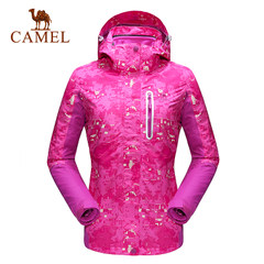 CAMEL骆驼户外冲锋衣 情侣款防风防水保暖冲锋衣男女款