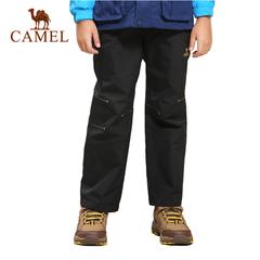 camel/骆驼户外儿童男童女童冲锋裤防风保暖长裤