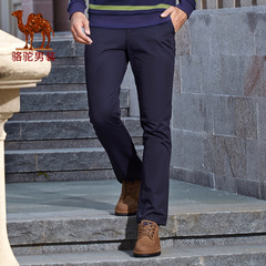 Camel/骆驼男装 2016秋季新款时尚商务休闲修身小脚休闲裤男长裤
