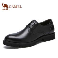 Camel/骆驼男鞋春季英伦复古 时尚舒适防滑商务正装皮鞋