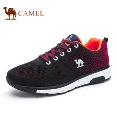 Camel/骆驼男鞋 运动鞋男跑步休闲鞋轻盈透气鞋舒适
