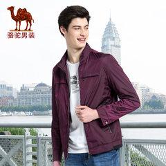 Camel/骆驼男装 时尚外套散口袖商务休闲旅行夹克衫上衣
