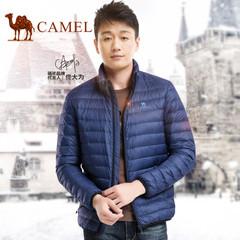 【明星同款】Camel骆驼2016冬季新款羽绒服 情侣保暖轻薄外套男女