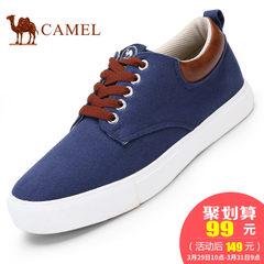 【热销1500件】CAMEL骆驼男士帆布鞋运动休闲鞋低帮系带男板鞋子