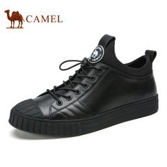 Camel/骆驼男鞋春季潮流运动时尚休闲套脚滑板鞋