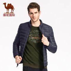 骆驼 秋冬季新款时尚保暖无帽立领羽绒服短款外套