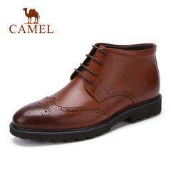 骆驼男靴 秋冬新品英伦复古商务男靴 舒适保暖男士商务休闲短靴子