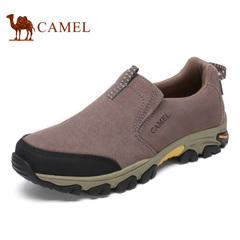 Camel/骆驼男鞋秋冬日常休闲男士皮鞋柔软舒适休闲男鞋