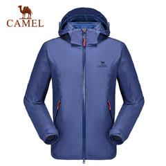 【东丽面料】骆驼户外冲锋衣 男士防风保暖两件套冲锋衣