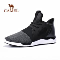 【2016新品】骆驼户外情侣款越野跑鞋 男女透气防滑运动鞋跑鞋