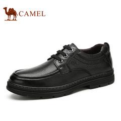 Camel/骆驼男鞋春季男鞋皮男士日常休闲鞋潮鞋子皮鞋