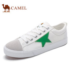 Camel骆驼男鞋 春季舒适运动休闲学院风百搭帆布休闲鞋