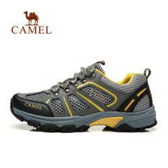 camel/骆驼户外徒步鞋男女款网布鞋防滑网鞋透气运动鞋登山鞋