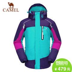 camel/骆驼儿童男女童夹棉保暖冲锋衣户外服长袖外套冲锋衣