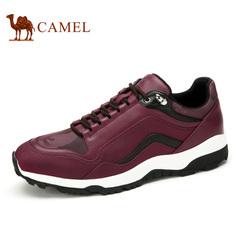 Camel/骆驼男鞋春季户外运动鞋潮流低帮迷彩男鞋