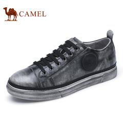 Camel/骆驼男鞋春季 时尚流行滑板鞋小脏鞋休闲鞋男