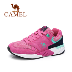 Camel/骆驼女鞋  时尚舒适平底 活力休闲运动女鞋