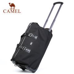 Camel/骆驼新款拉杆旅行包休闲女拉杆箱大容量男款行李包手拎