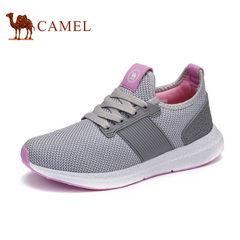 CAMEL骆驼情侣鞋秋 新品情侣款运动休闲男鞋透气跑步减震低帮女鞋