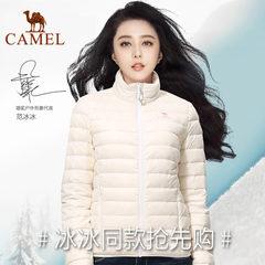 【范冰冰同款】CAMEL骆驼羽绒服 情侣保暖轻薄外套男女