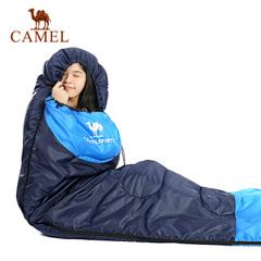 駱駝戶外睡袋 1.1kg輕盈加厚保暖雙人旅行露營室內便攜成人睡袋冬