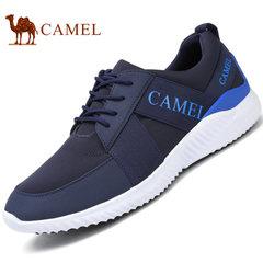 Camel/骆驼男鞋2017春季男士徒步运动跑鞋舒适透气时尚休闲运动鞋