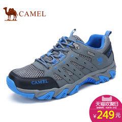 Camel/骆驼网面运动鞋男女款秋季透气情侣款跑步鞋户外登山徒步鞋