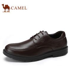 CAMEL骆驼男鞋 新品舒适耐磨系带男鞋子商务休闲皮鞋圆头皮鞋