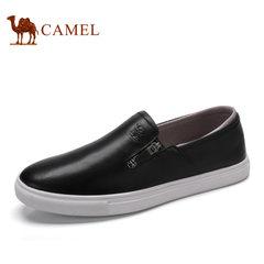 Camel/骆驼2017年夏季新品时尚休闲低帮鞋乐福鞋套脚潮鞋休闲男鞋