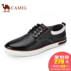 CAMEL骆驼男鞋 2017新款时尚休闲男鞋柔软舒适耐磨系带休闲鞋男